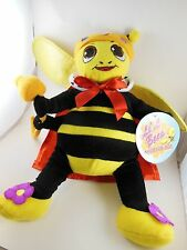 "13"" plush Li'l Bees Worker Bee's Queen Mint With Tag  Sugar Loaf 2008 Very cool"