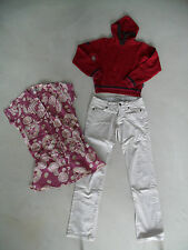 LOT PANTALON ZARA KIDS + TUNIQUE + PULL / SWEAT BEST MOUNTAIN TAILLE 12 ANS