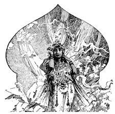 MÉMOIRES D'UN ÉLÉPHANT BLANC J.Gautier Alphonse Mucha *