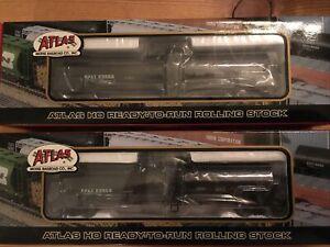 2 Atlas HO NIB Citgo tank cars #1633-4.  CPAX
