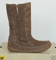 Neu Caterpillar Cat Damen Leder Winter Stiefel Boots Cascada Outdoor Gr.37 UK4