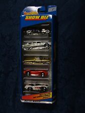 Hot Wheels - Show Biz w/Red Ferrari - 5 Car Gift Pack * Mattel *
