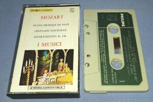 I MUSICI MOZART PAPER LABELS classical music cassette C0175