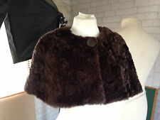 Button Faux Fur Shrug Coats & Jackets for Women