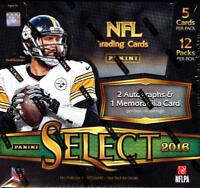 2016 Panini Select Football - Pick A Player