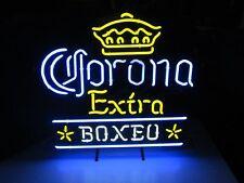 "Corona Extro Boxeo Neon Sign Display Store Beer Bar Real Neon Light24""X20""K541"