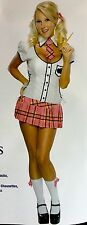 Teacher's Pet schoolgirl costume womens XS - Rubies Secret Wishes 888608 NIP