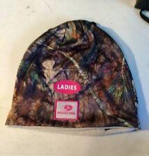 3a6f854669e Mossy Oak Ladies - Reversible Camo Light Beige Knit Hat