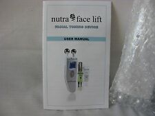 Nu-FACE Nutra Face Lift Facial Toning Device Set NEW in a Box  Nutra Luxe MD