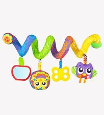 NEW Playgro Woodlands Twirly Whirly Pram Stroller Cot Crib Baby Toy 0m+