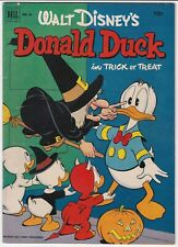 Walt Disney's Donald Dell #26 VG+ 4.5 Trick or Treat Huey Dewey Louie Disney