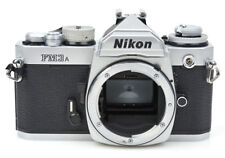 Nikon FM3A 35mm film SLR Chrome camera body - Awesome camera - 246154