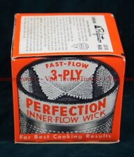 Perfection 331-X Inner-Flow Wick for Oil Ranges & Cook Stoves NOS Original Box