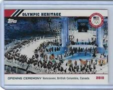 2014 TOPPS OLYMPIC OPENING CEREMONY / HERITAGE CARD OH-21 ~ 2010 VANCOUVER BC