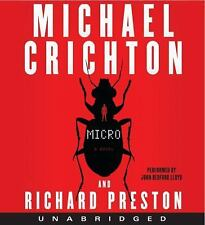 Micro by Michael Crichton and Richard Preston (2011, CD, Unabridged)
