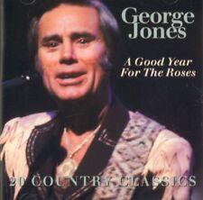 George Jones(CD Album)A Good Year For The roses-Hallmark-UK-1995-New