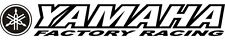YAMAHA FACTORY RACING Windshield Decal Trailer PW 50 85 125 250 426 450 YZ YZF F