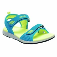 Calzado de mujer Sandalias deportivas planos de color principal azul