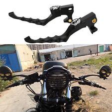 Skull Hand Brake Clutch Lever for Harley Davidson Sportster 04-13 XL XR Iron 883