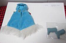1970 Barbie FRANCIE OUTFIT~*CORDUROY CAPE*~ BLUE BOOTS~RARE WHITE FUR~MINT~#1764