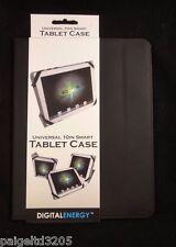 Digital Energy Universal 10in Smart Tablet Case - Black / Gray