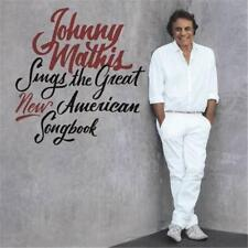 JOHNNY MATHIS SINGS THE GREAT NEW AMERICAN SONGBOOK CD NEW