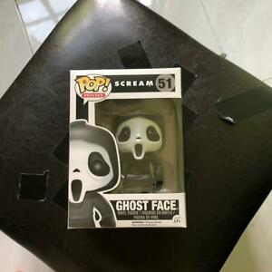 FUNKO Pop! Movies Scream Ghost Face  #51 Action Figure With the Box