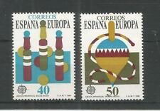 SPAIN 1989 EUROPA CHILDRENS TOYS SG,3015-3016 U/MINT LOT 9158A