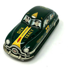 Dick Tracey Squad Car No. 1, Friction, Vintage 1949