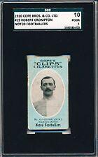 1910 Cope Bros. & Co. Ltd Robert Bob Crompton Scissors back! SGC 10 = PSA 1