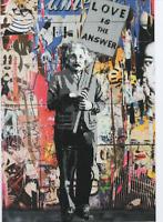 MR BRAINWASH PROMOTIONAL POST CARD PRINT SHOW CARD MBW art street art urban art