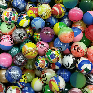 LARGE 45 mm Jet Balls Brightly bouncy balls Party Bag gifts Assorted colours fun