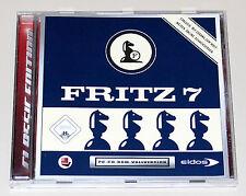 FRITZ 7 - SCHACH PROGRAMM FÜR PC - CHESS SIMULATOR - NEUWERTIG