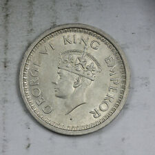 British India 1944 One Rupee Silver AU FREE Shipping