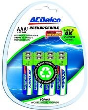 ACDelco 800 mAh Precharged Rechargeable NiMH AAA Battery (8-Pack) Dependable