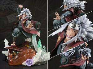 Naruto Gama Jiraiya Figuarts ZERO Kizuna Relation Ver. 20.5cm PVC Figur Figuren