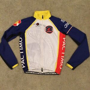 Pactimo Men's Cycling Wind Rain Shell Jacket Size S Colorado Racing Assoc.