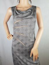 NEW 100% Authentic Gianni Versace Couture Sheer Mesh Slash Dress RRP £625