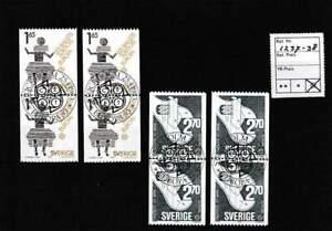 Europa Cept gestempeld block 1983 used - Zweden 1237-1238 (215)