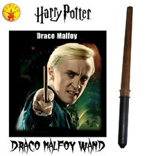 LICENSED DRACO MALFOY WAND COSTUME BOOK WEEK BOYS WIZARD ACCESSORY HARRY POTTER