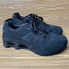 Nike Shox Turbo Triple Black Mens Size 9.5 317547-005 2008 Lace Up Free Shipping