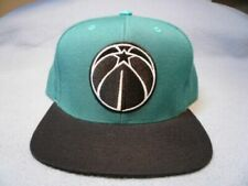 Mitchell & Ness Washington Wizards 2-tone Snapback Cap Hat Teal