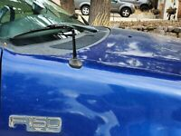 "4"" Black Metal Antenna Mast Radio AM/FM for FORD F-150 F150 F 150 2005-2008 New"
