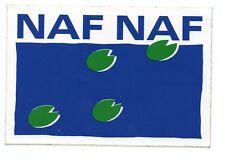 Autocollant/Sticker Vintage  NAF NAF CLOTHES TOP !