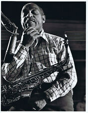 Benny Carter 1974 original signed jazz photograph by Phil Stern