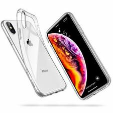 For iPhone XS Case Clear Silicone Slim Gel Cover & Stylus Pen