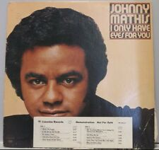 1976 Johnny Mathis I Only Have Eyes For You Album and Cover Demo Album