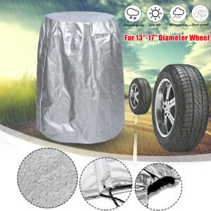 13-17'' Diameter Car Wheel Tire Storage  Protector Cover Holds Storage