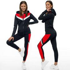 Trainingsanzug Sportanzug Jogginganzug Hose Sweatshirt Damen OZONEE JS/YW06005