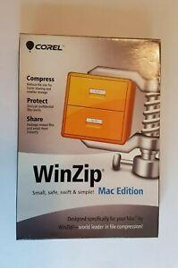 Corel WinZip MAC Edition En Mini-Box Software new&sealed